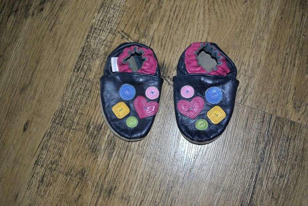 Papuci De Mers Pentru Bebe Piele 12 18 Luni 1 An Robeez