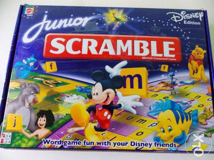 Scramble Original Junior Engleza Pentru Copii 2-10 Ani