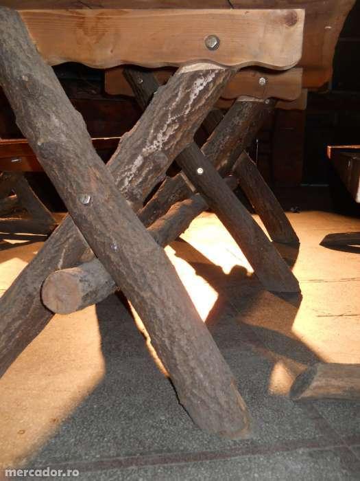 Ocazie Mobilier Rustic Terasa Gradina Din Stejar Masiv