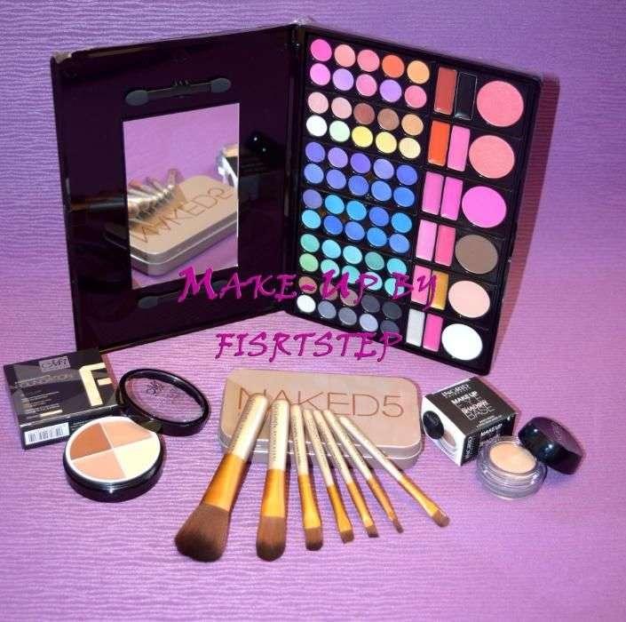 Trusa Machiaj Mac 78 120 Culori Cu 7 Pensule Makeup Naked0067