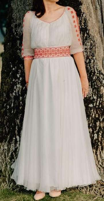 Rochie Mireasa Traditionala Romaneasca Marime M