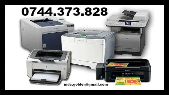 Reparatii Imprimante,multifunctionale/ Reincarcare Cartuse Imprimante.