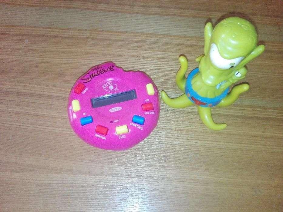 Joc Electronic 20Q The Simpsons + Figurina Originala