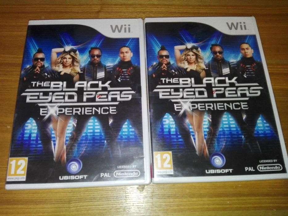 Joc Nintendo Wii The Black Eyed Peas Experience Sigilat Nou