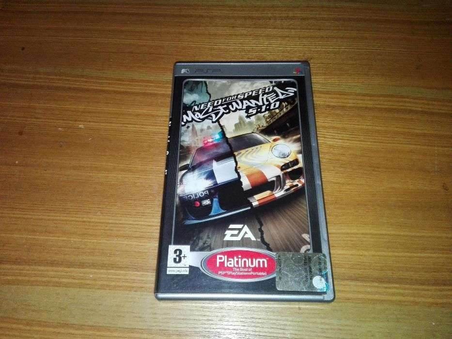Joc Playstation/PSP NFS /Need For Speed Most Wanted