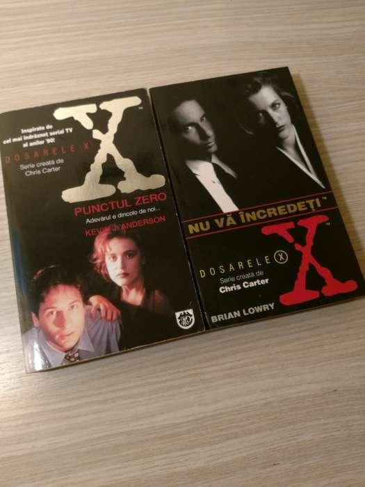 2 Cărți Dosarele X De La Editura Rao