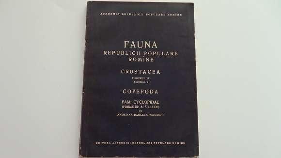 Fauna R.P.R. Crustacea Copepoda Vol.4 Fascicula 6 - 1963-rara