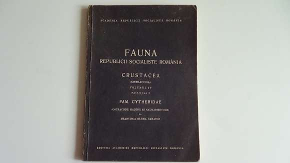 Fauna R.P.R. Crustacea Cytheridae Vol.4 Fascicula 10 -1967-rara