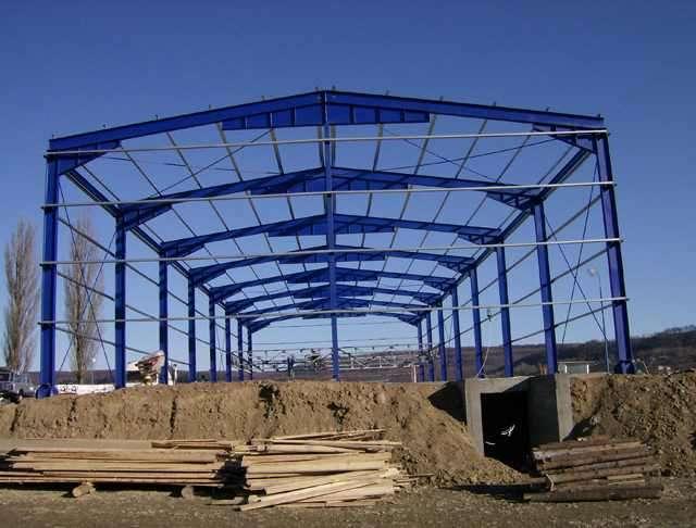 Vand Hala Structura Metalică