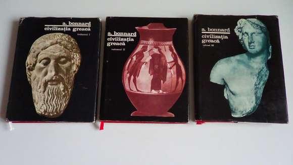 Civilizatia Greaca,Andre Bonnard 3 Vol. 1967-1969