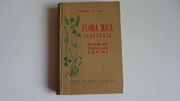 Flora Mica Ilustrata A R.P.R.,I.Prodan-Al.Buia 1958 - Rara