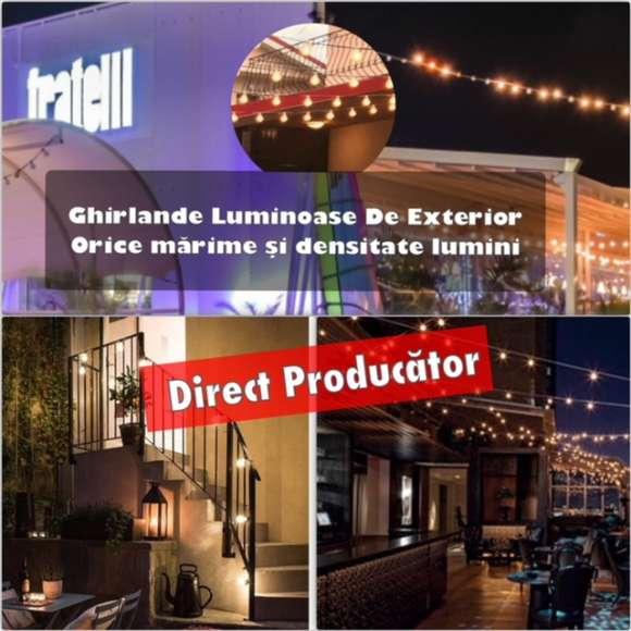 Ghirlande Luminoase Exterior,Producator,Interior/Exterior,Led,Reducere