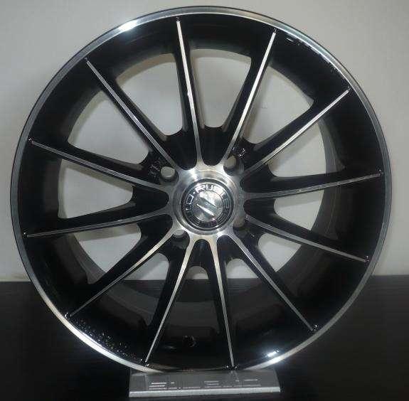 Jante Aliaj- STILAUTO SR600 BLACK DIAMOND R15 6,5 5x112 ET44