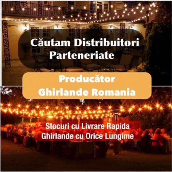 Fabrica Ghirlande Luminoase Exterior,Cautam Distribuitori,Colaborare