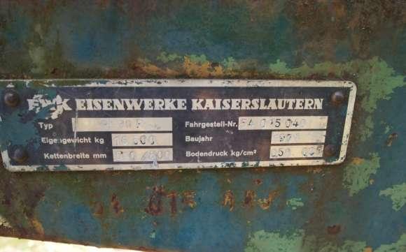 Excavator Liebherr 60R, De Vanzare