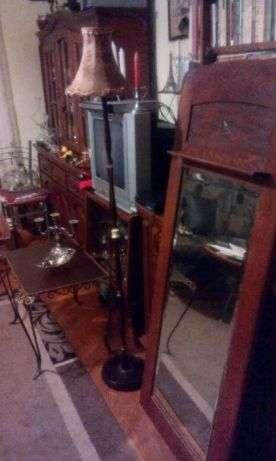 Oglinda Cristal Interbelica/Arta/Antichitati/Vintage/Colectii/Cadouri