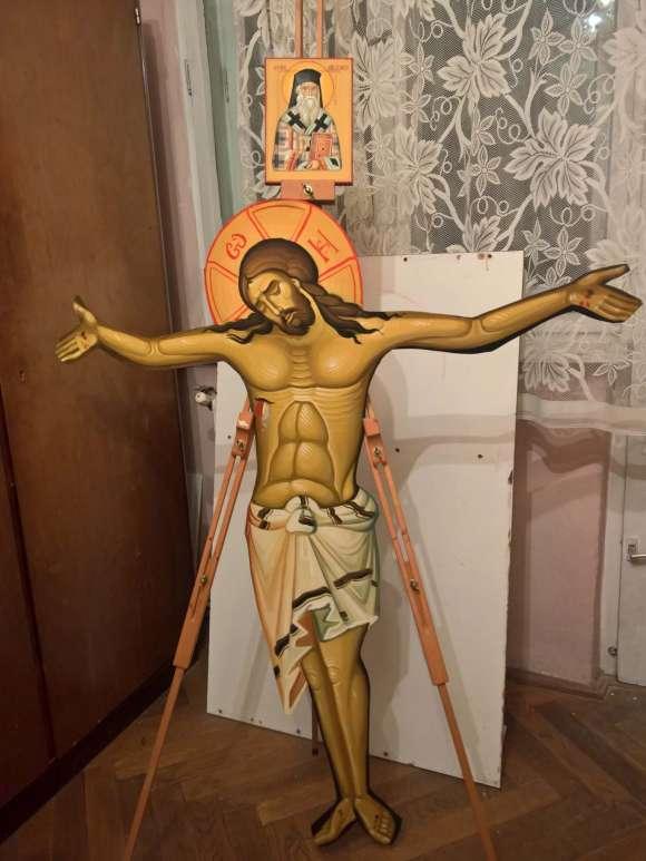 Rastigniri Pictate Pe Tabla Zincata ,ICOANE Pe Lemn, Pictura De Biserici