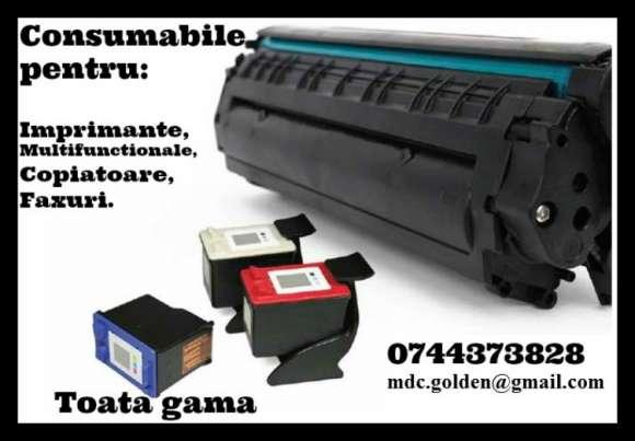 Cartuse Imprimante, Multifunctionale, Copiatoare Si Faxuri.