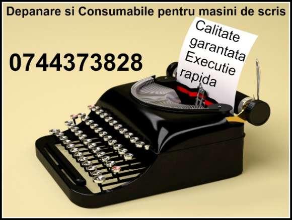 Reparam Rapid Masini De Scris Cu Schimbare De Consumabile Tusate.