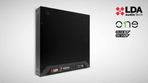 Vand Amplificator PA EN-54 2 X 500W/100V LDA ONE