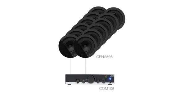 Sistem Audio Profesional 12 Boxe De Tavan + Amplificator CANTO5.12
