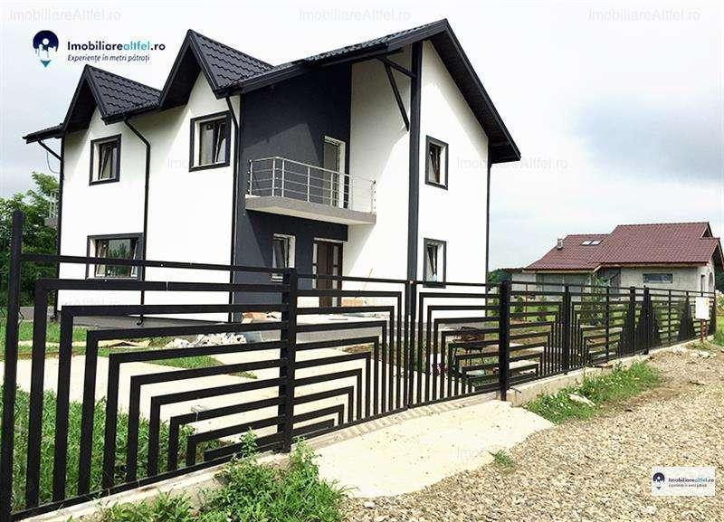 Casa 4 Camere, 117 Mp Utili + 500 Mp Teren, Zona Valea Ursului - Miroslava