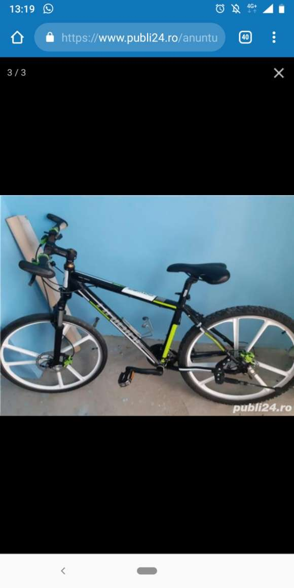 Bicicleta Focus Full Disk Ulei Mineral