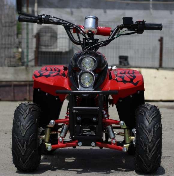 ATV Electric ECO Bigfoot 800W 36V Cu Baterie Detasabila Red Nou