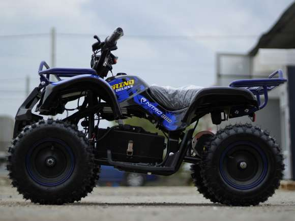 Mini ATV Electric Pentru Copii NITRO Torino Quad 1000W 36V Blue Nou