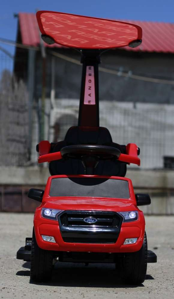 Carucior Electric Pentru Copii 3 In 1 Ford Ranger Red Nou