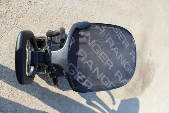 Carut De Plimbat Copilul 2 In 1 Ford Ranger WildTrak Black Nou