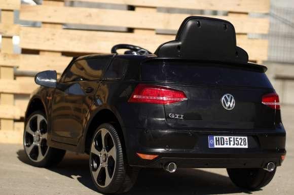 Masina Electrica VW Golf GTI Negru Nou