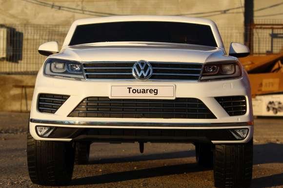 Masinuta Electrica Pentru Copii VW Touareq Alb Nou