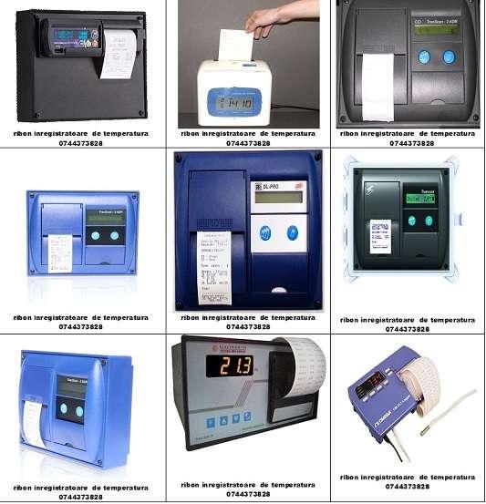 Panglici Tus Si Role Hartie Termodiagrama Auto, Transcan, Tkdl, Thermo King, Termograf, Esco, Touchprint, Esco, Datacold Carrier.