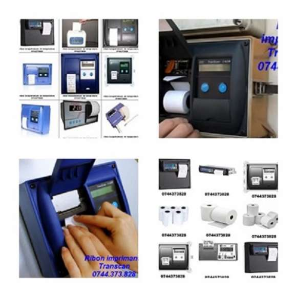 Casete Tus Si Role Hartie Ptr.THERMO KING CARGOPRINT, Termograf, Transcan, Touchprint, Esco, Datacold Carrier, Tkdl.