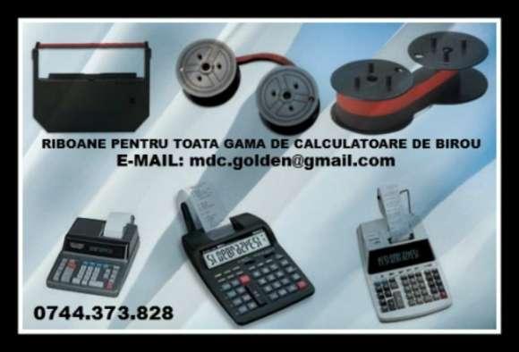 Cartus Tusat Si Role Hartie Ptr.masini Calcul, Calculatoare De Birou.