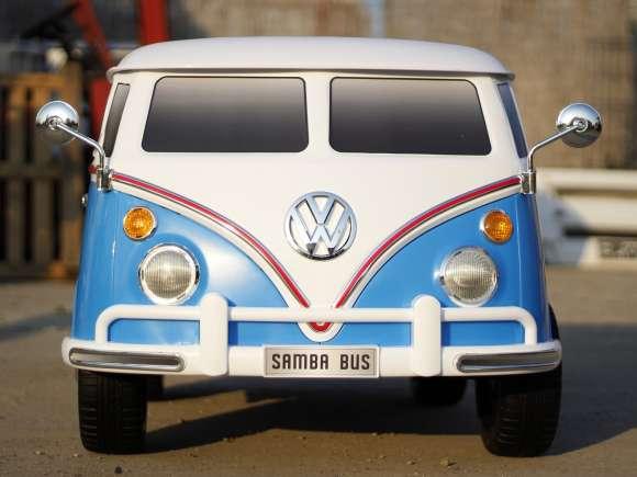 Masinuta Electrica Pentru Copii VW Samba Bus Blue New