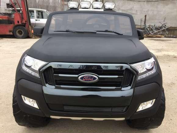 Masinuta Electrica Pentru Copii Ford Ranger 4x4 Cu LCD Video/Audio Negru Matt New