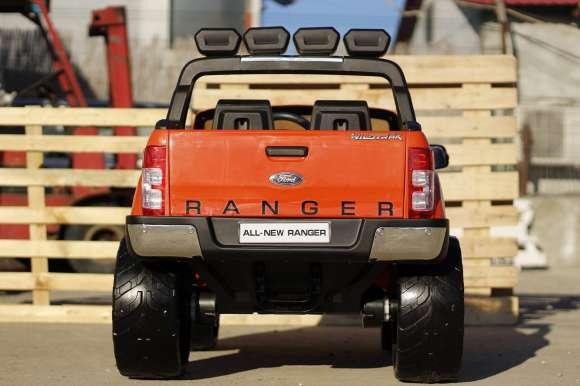 Masinuta Electrica Pentru Copii Ford Ranger 4x4 , 4x 35W, 12V / 10Ah Portocaliu Nou