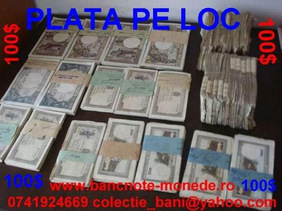 Colectionar Achizitionez Bancnote Monede
