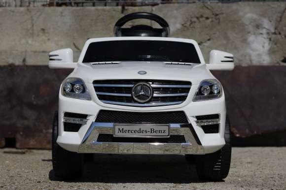 Masinuta Electrica Pentru Copii Mercedes ML350 Alb Nou