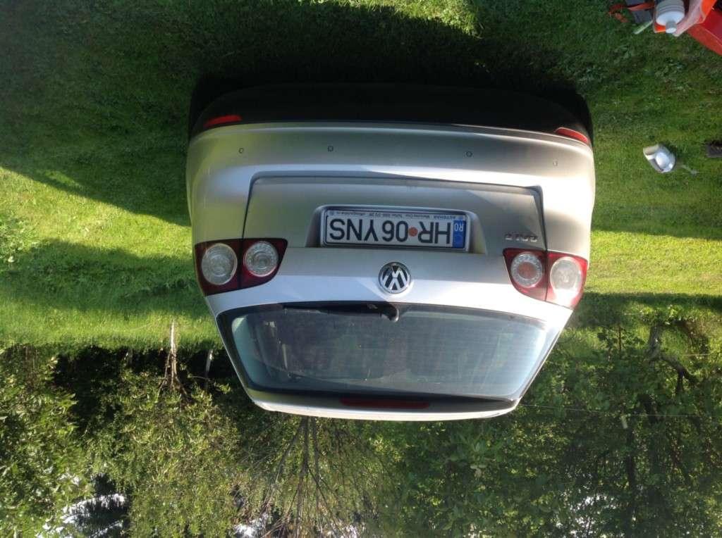 VW Golf Plus Din 2005 - 124,000 Km