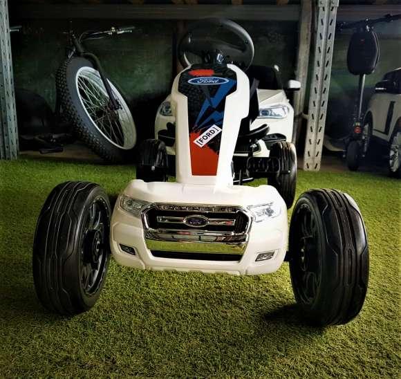 Ford A Lansat GO Kart-ul Cu Pedale Alb Nou