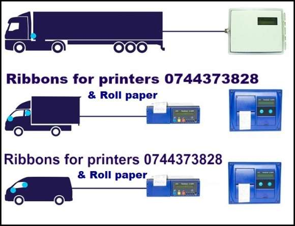 Ribon Tus Si Rola Hartie Inregistrator Transport Frigorific Thermo King, Transcan, DataCold Carrier, Euroscan, TouchPrint …