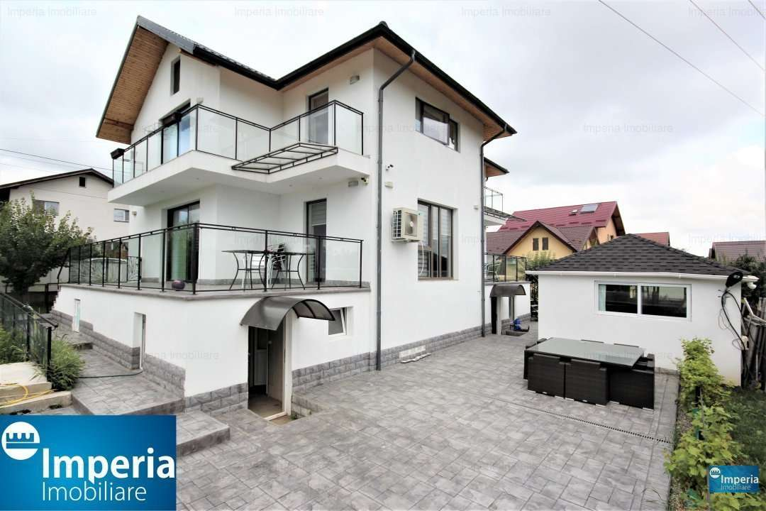 Vila Moderna De Vanzare In Iasi, Zona Lunca Cetatuii