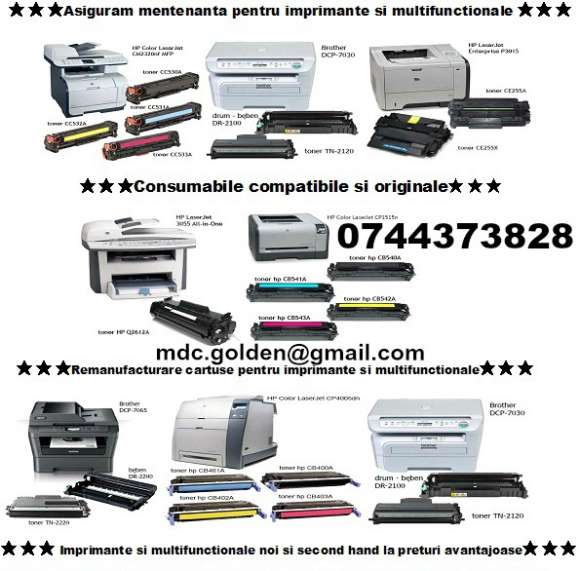 Cartuse Imprimante Compatibile 0744373828 Sau Originale Cu Livrare Rapida.