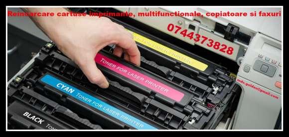 Remanufacturare Cartuse Imprimanta 0744373828, Multifunctionale, Copiatoare Si Faxuri.