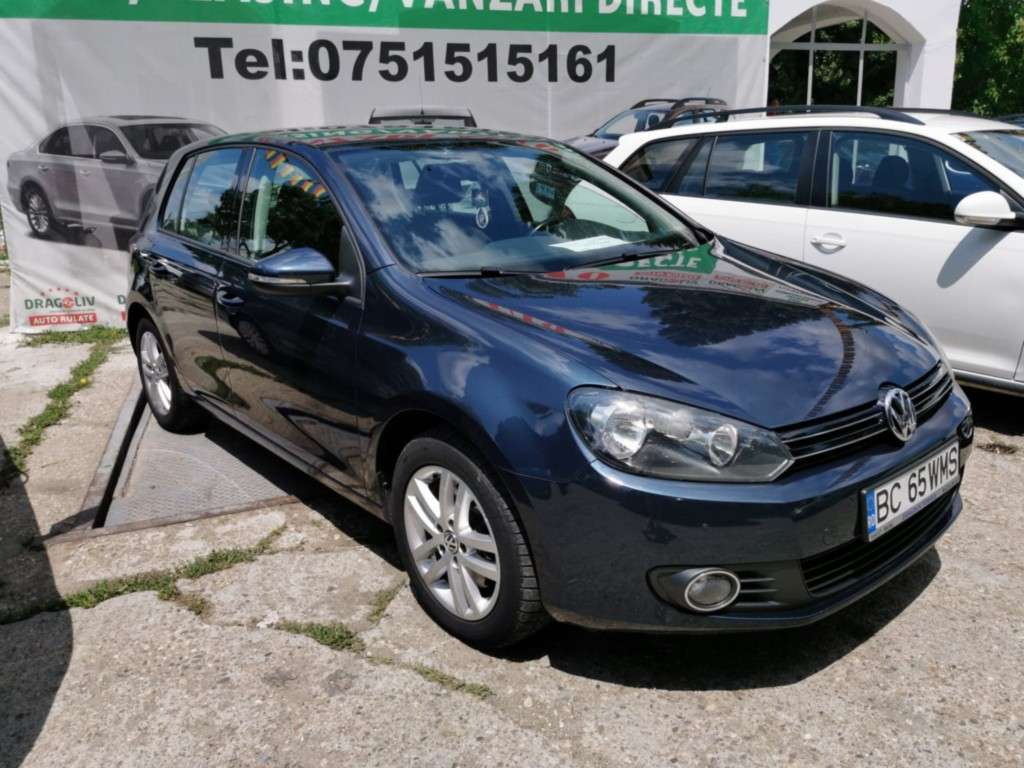 VW Golf Din 2011 - 268,000 Km