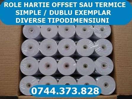 Role Hartie Termica Si Offset Ptr. Imprimante Termice Sau Matriciale .