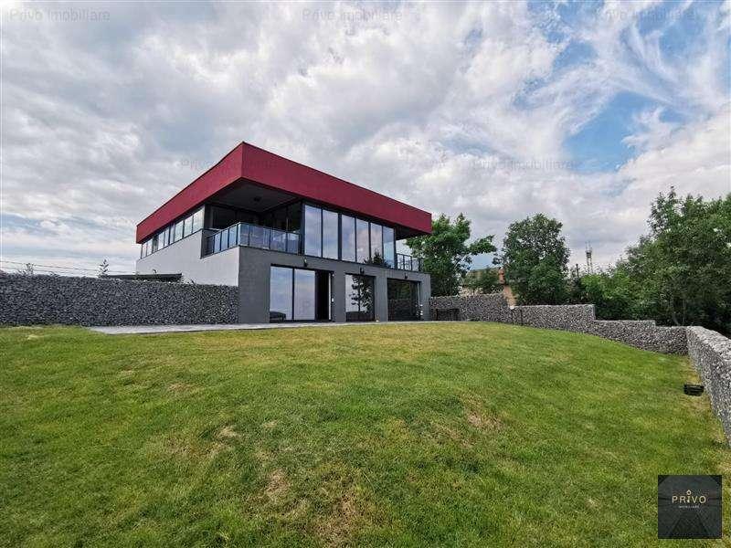 Casa Noua Cu View,187 Mp,5 Camere, Curte 350 Mp, Zona Verde, Feleacu
